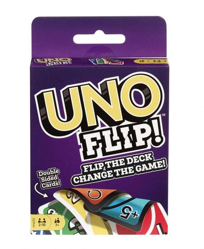Mattel UNO Flip kartová hra