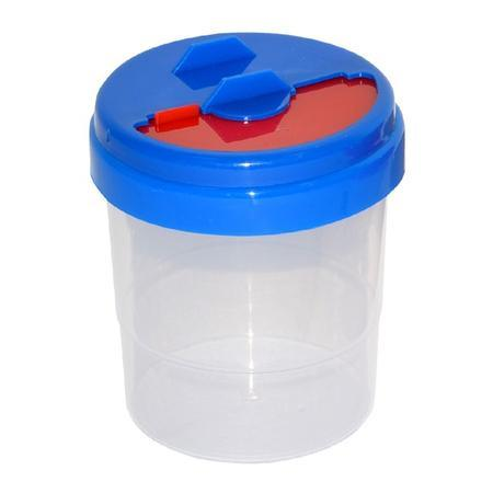 Kelímok na vodu výtvarný - modrá