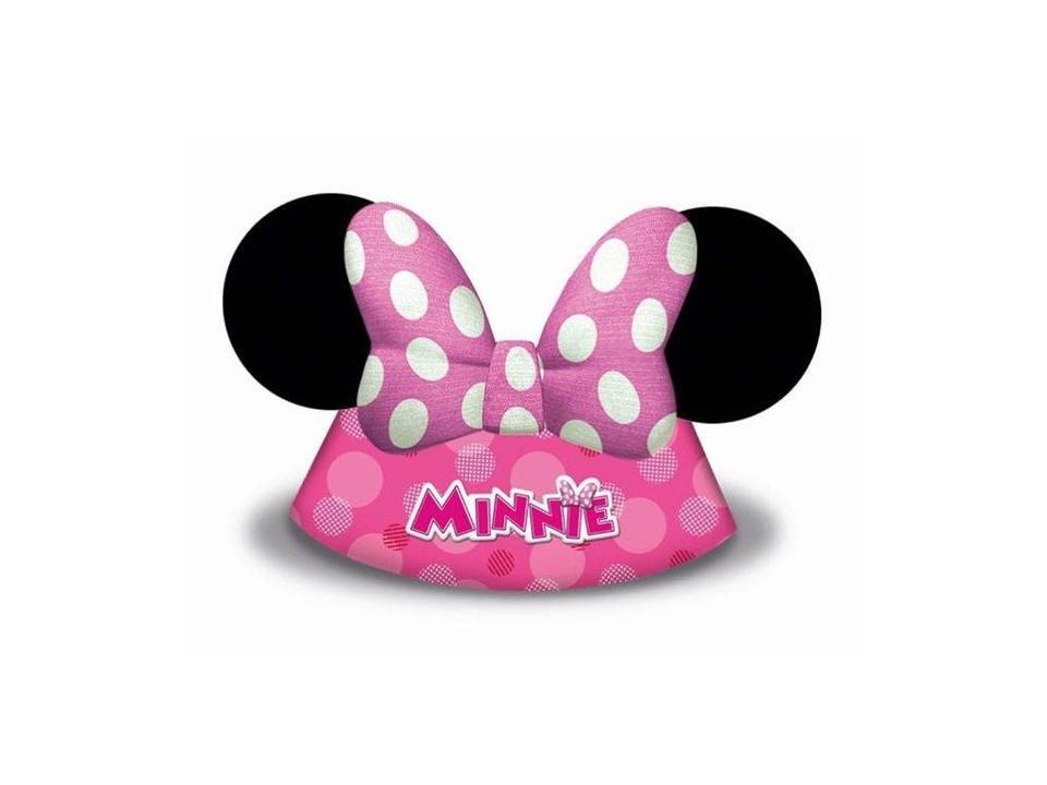 Klobúčik Minnie 6ks
