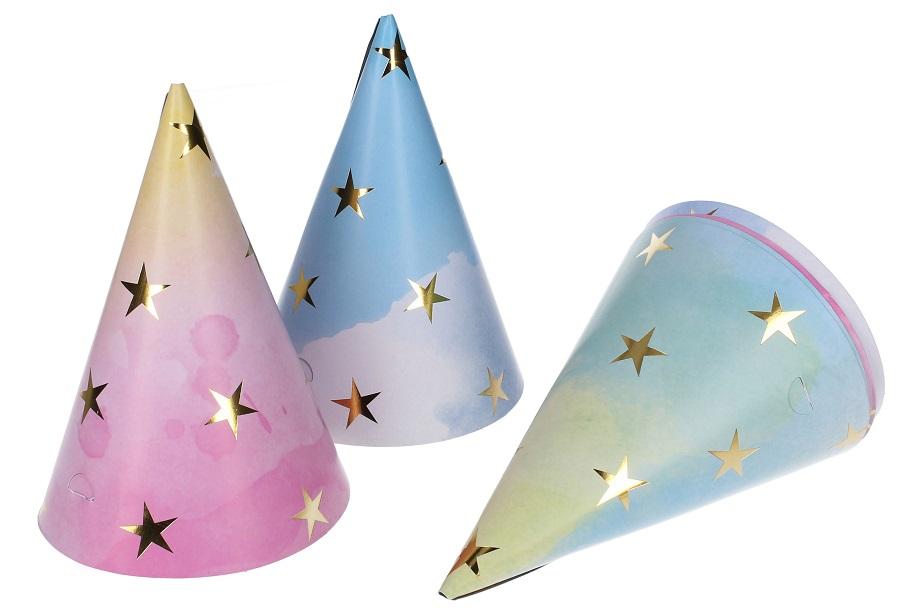 Klobúčiky hviezdy6ks