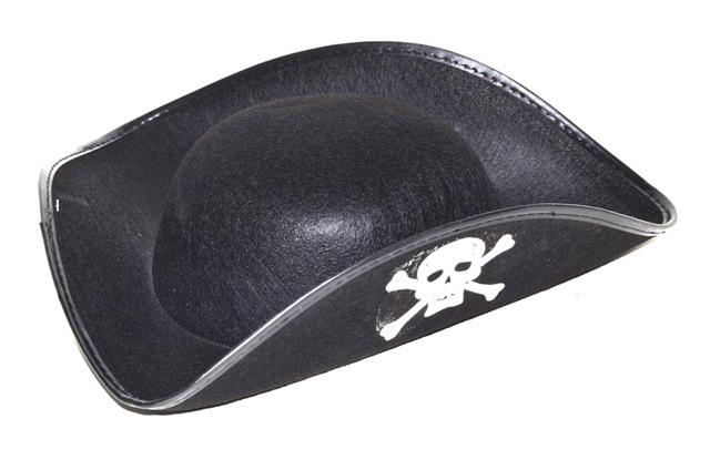 Klobúk pirát 20cm