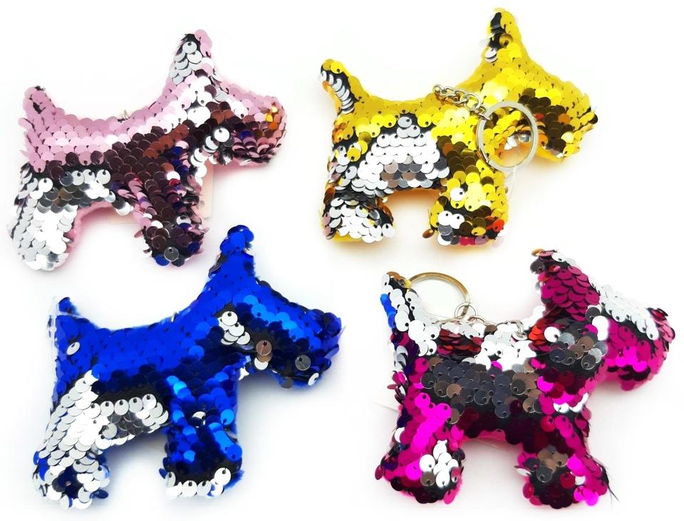 Kľúčenka pes 10cm - náhodná