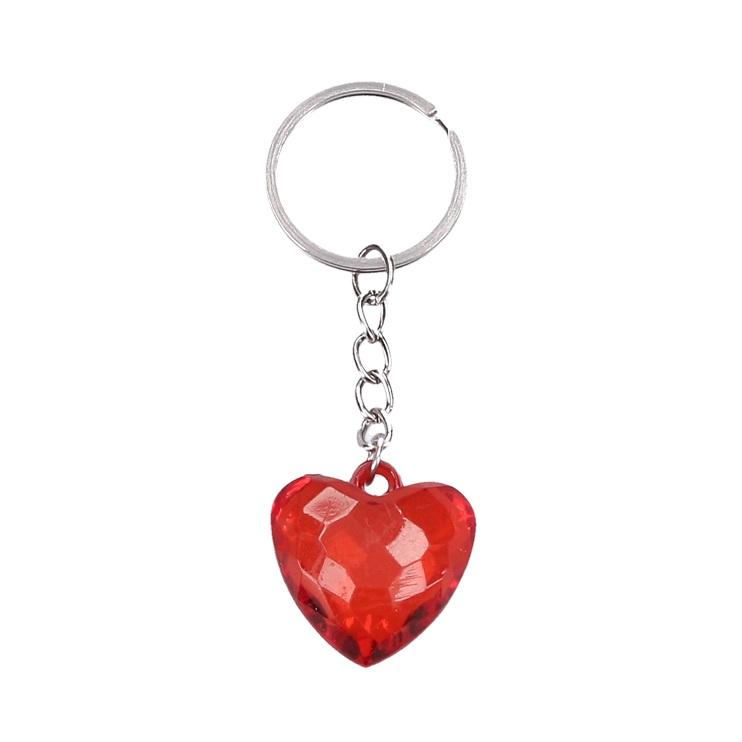 Kľúčenka srdce 7cm