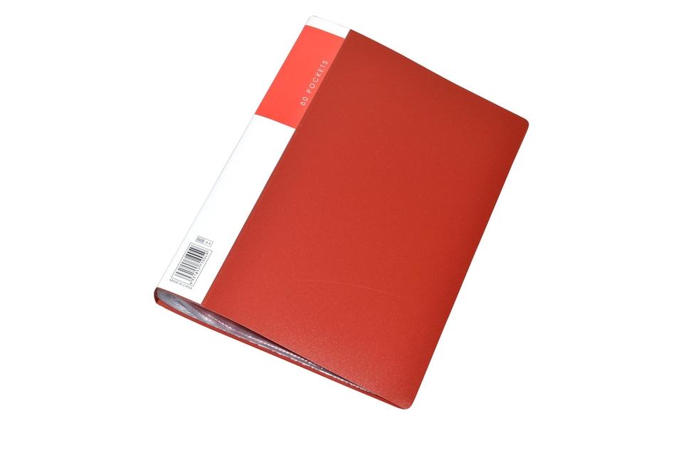 Kniha katalógová 60 listov - zelená