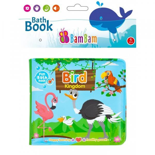 BamBam Mäkká knižka vtáčiky 14x12cm