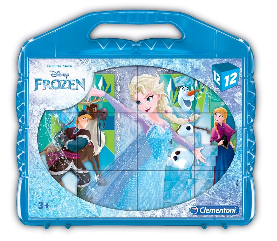 Kocky Clementoni Frozen 12 ks