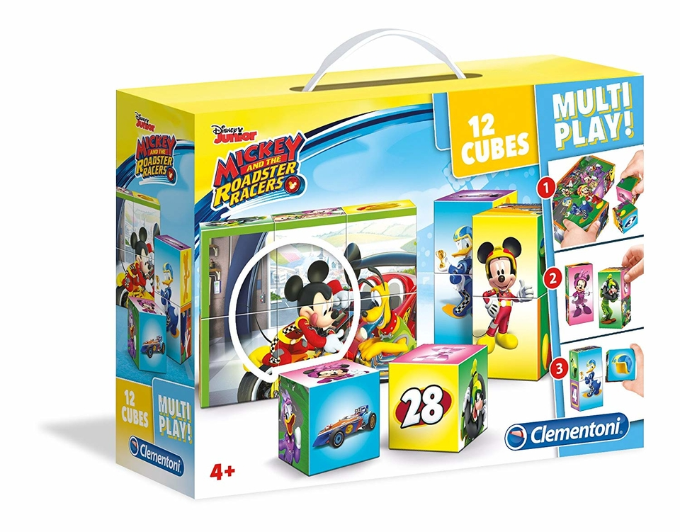 Kocky Clementoni Mickey Mouse 12ks