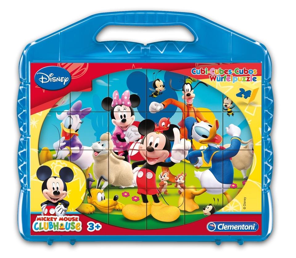 Kocky Clementoni Mickey Mouse 24ks