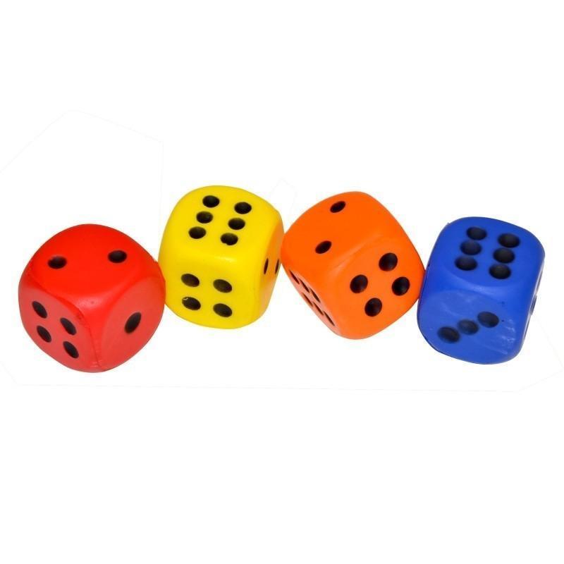 Kocky hracie penové 4ks
