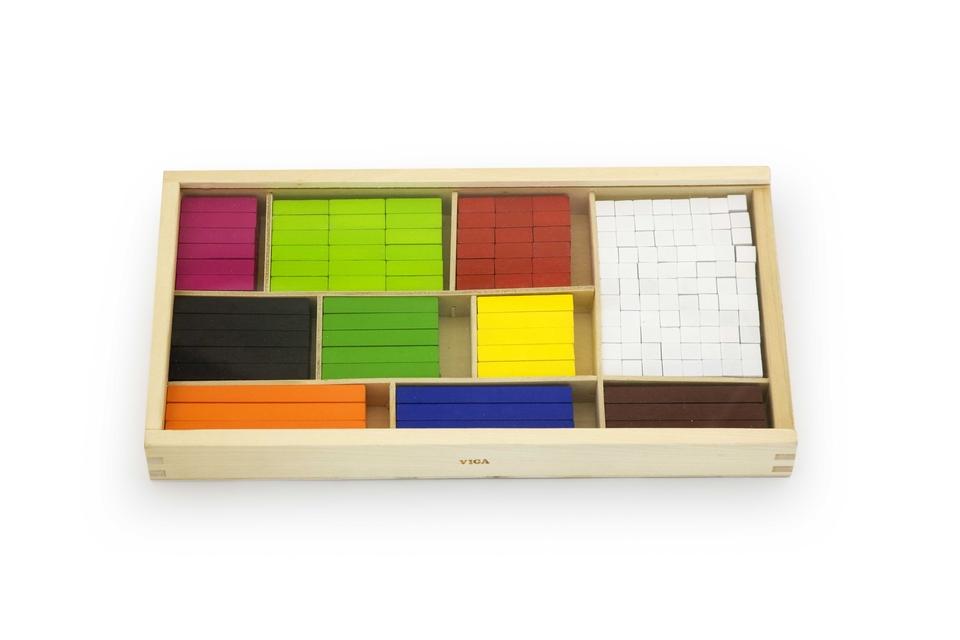 Drevené matematické bloky