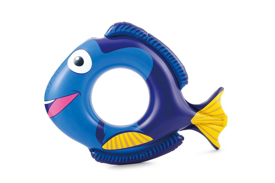 Polygroup Plávacie koleso ryba 76x58cm