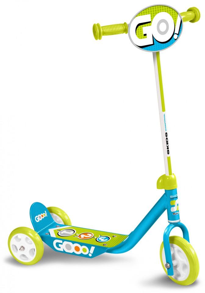 Skids Control Kolobežka 3-kolesová modrá
