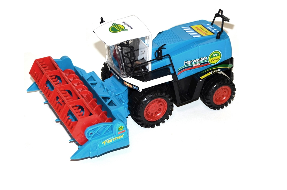 Kombajn Harvester Power 28cm - modrá