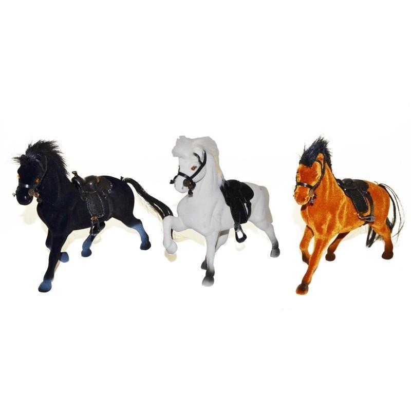 Kôň 18cm - biela