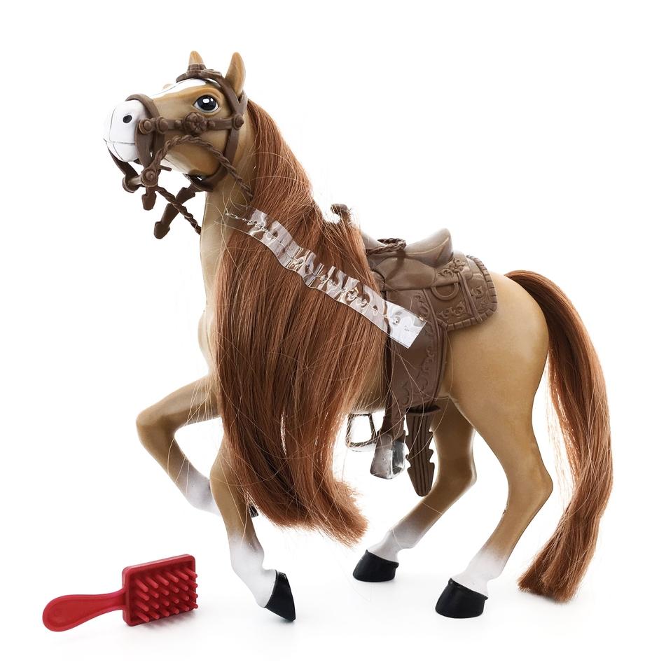 Kôň s kefou 20cm