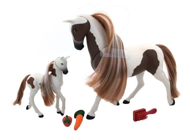 Kôň a koník 18cm
