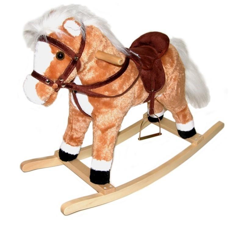 Kôň húpací s efektami 80x40cm