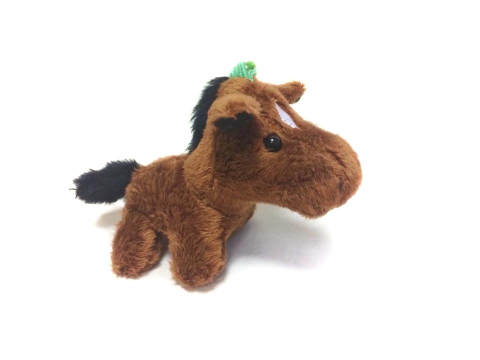 Kôň plyš - kľúčenka