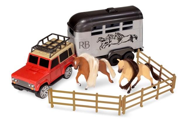 Kôň s autom set