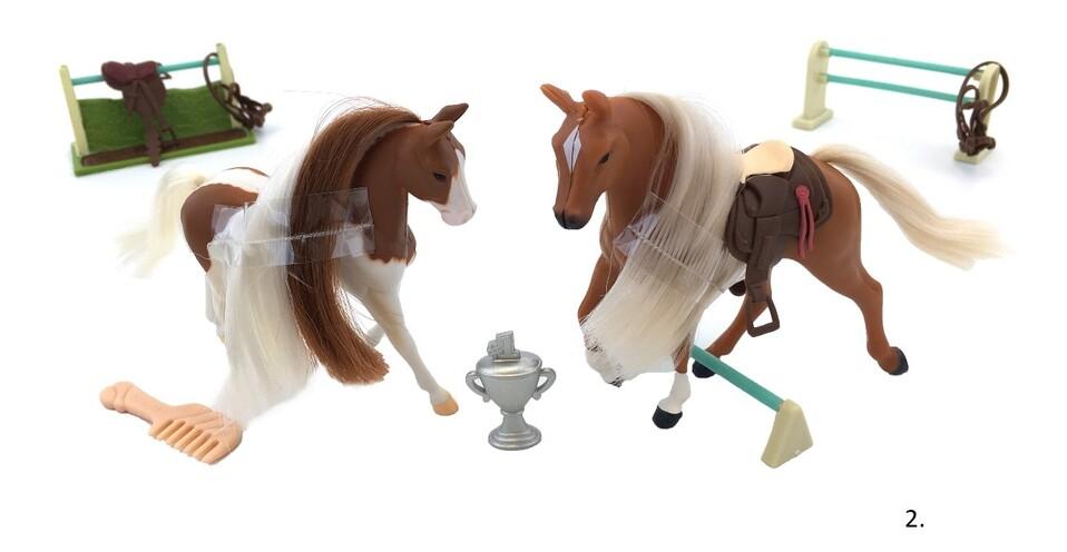 Kôň set - hnedá