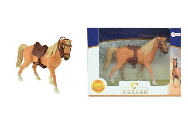 Kôň so sedlom 14cm