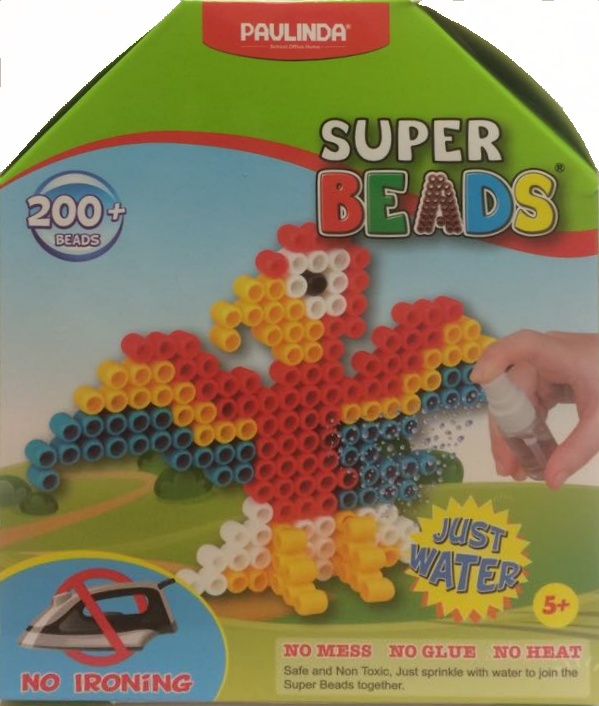 Koráliky Super Beads - papagáj