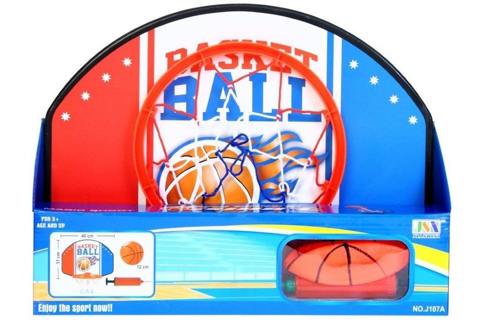 Basketbalový kôš s doplnkami