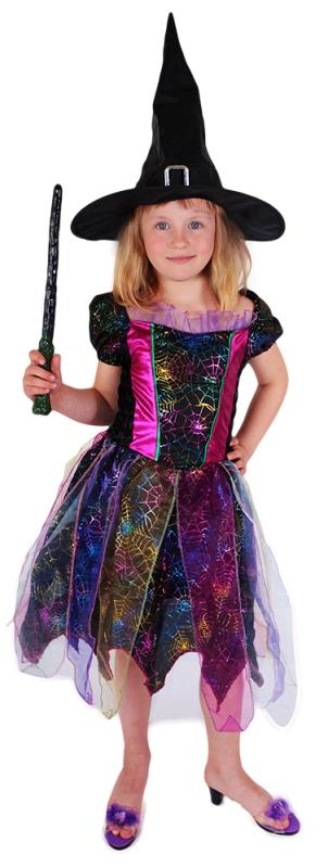 Farebný kostým čarodejnice veľ. S