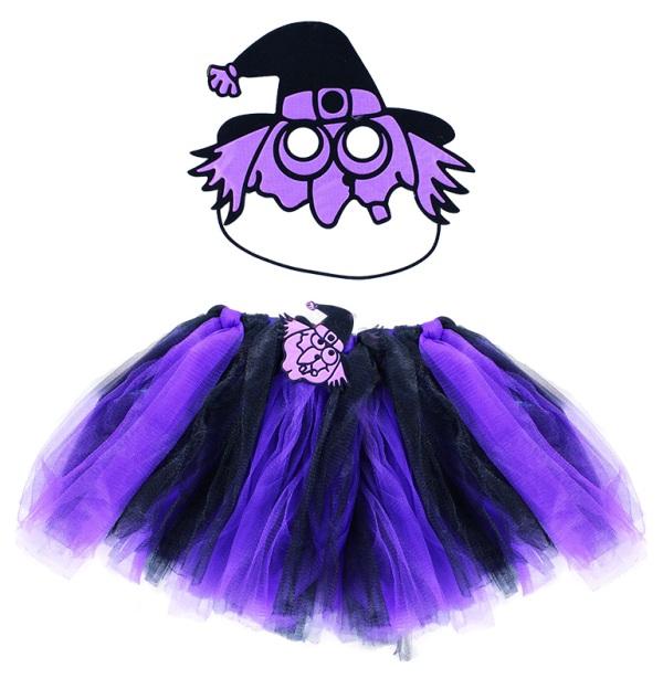 Kostým čarodejnice s maskou