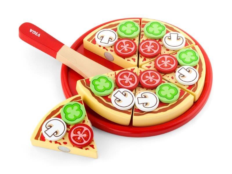 Viga Drevená pizza krájanie