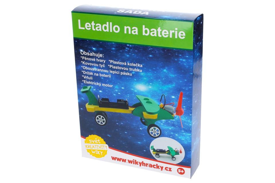 Kreatívna sada Lietadlo na batérie