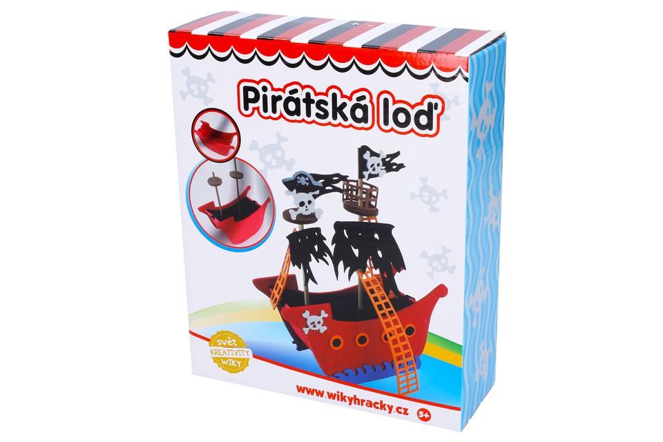 Kreatívna sada Pirátska loď
