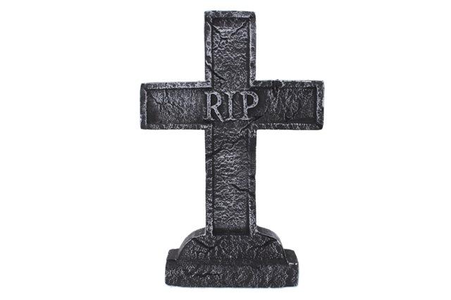 Kríž náhrobný halloweenský doplnok