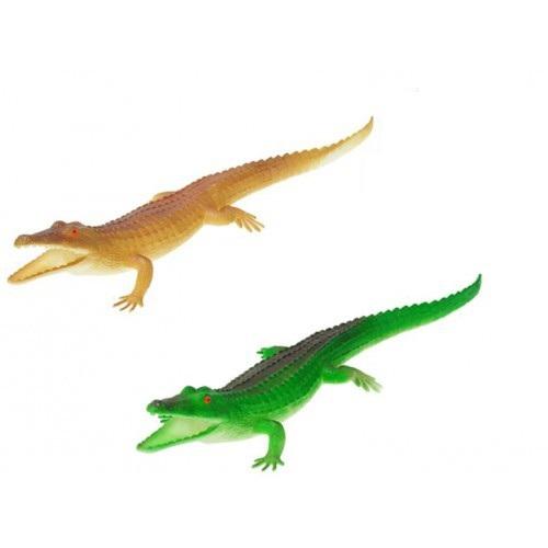 Krokodíl pískací 30cm - hnedá
