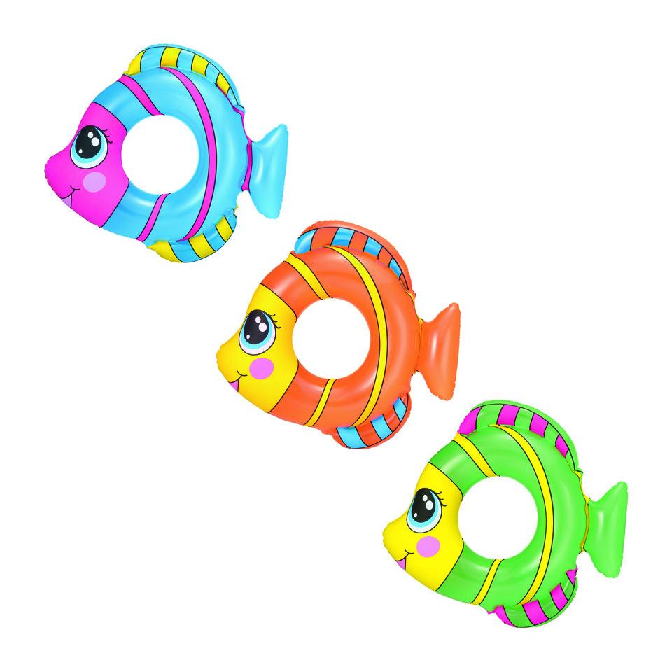 BestwayKoleso ryba 81x76cm - zelená