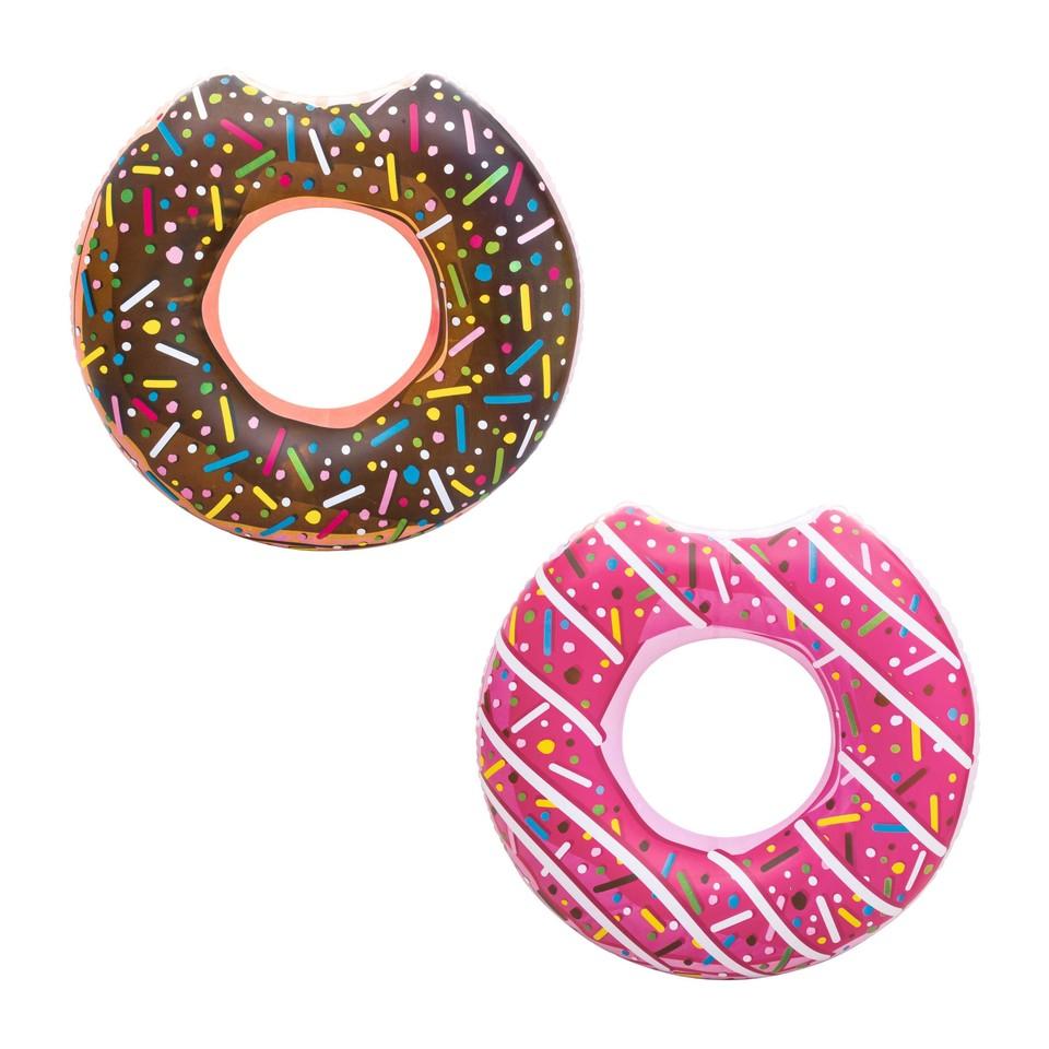 Bestway 36118 Koleso nafukovacie Donut 107cm - hnedá