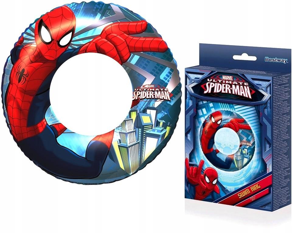 Bestway 98003 Nafukovacie koleso Spiderman 56cm