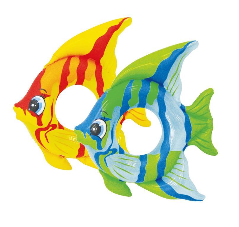 Intex 59219 kruh tropická ryba 94x80cm