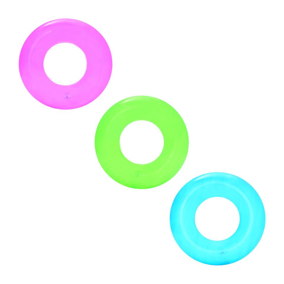 Bestway 36022 Nafukovacie koleso Neon 51cm - ružová