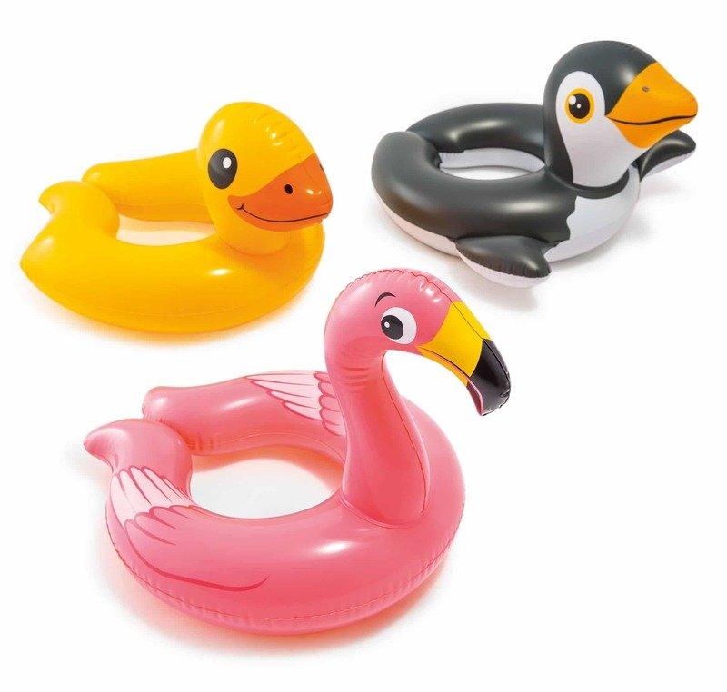 Intex 59220 Nafukovacie koleso zvieratko 3druhy - tučniak