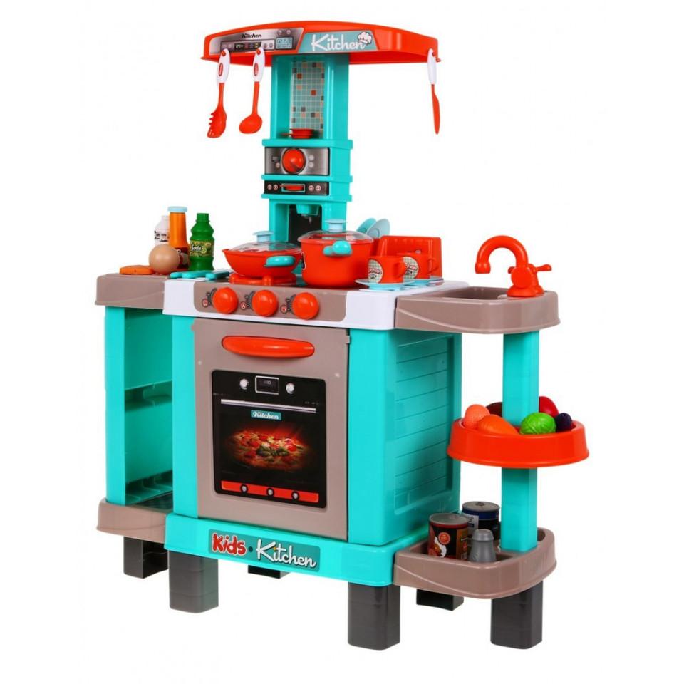 Kuchynka s efektami a príslušenstvom 87x64x29cm