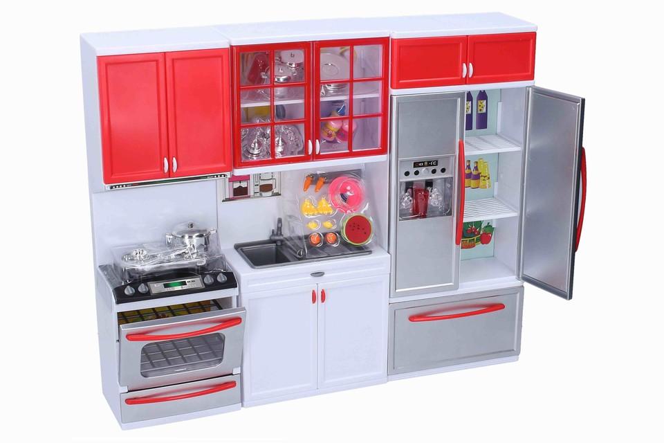 Kuchynka s efektmi 38x32x8cm
