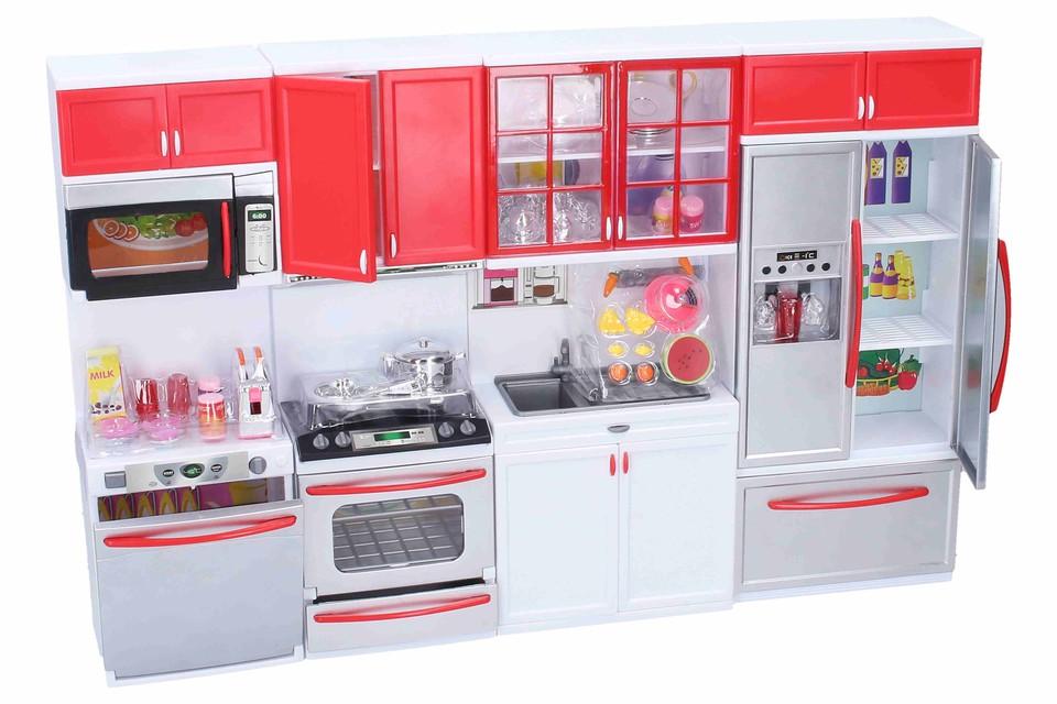 Kuchynka s efektmi 50x32x8cm