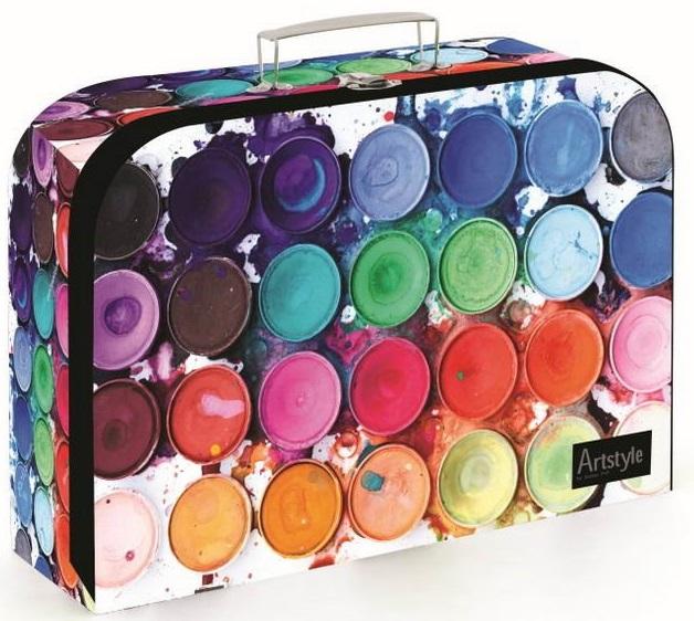 Kufrík farby 34cm