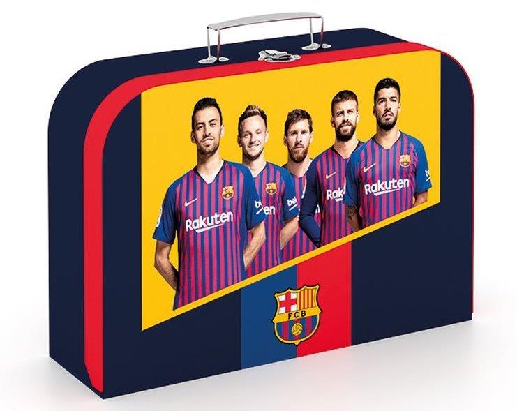 Kufrík FC Barcelona 34cm