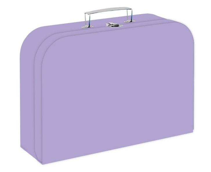 Kufrík fialový 34 cm