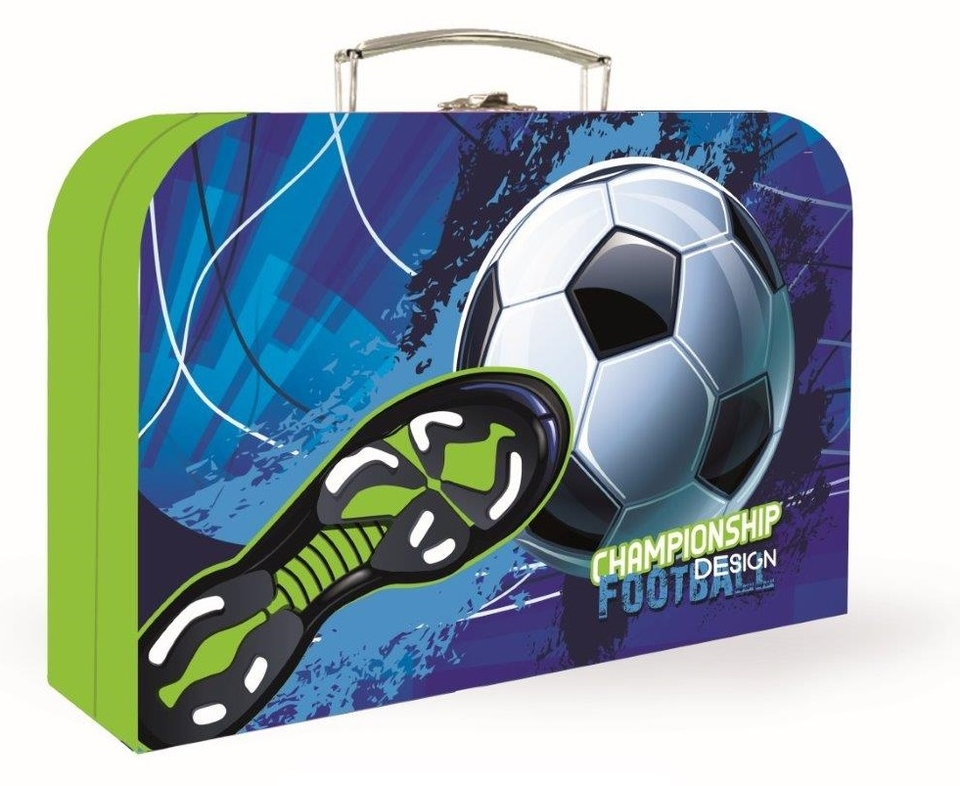 Kufrík futbal 34cm