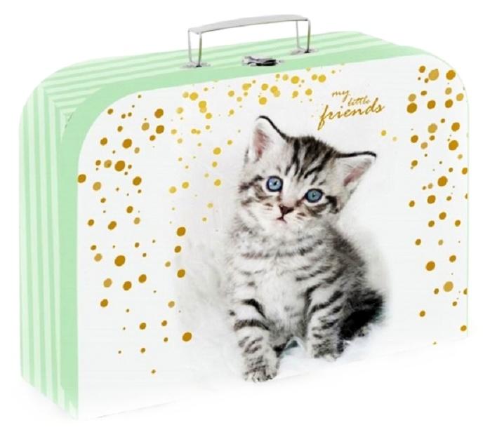 Kufrík mačka 34cm