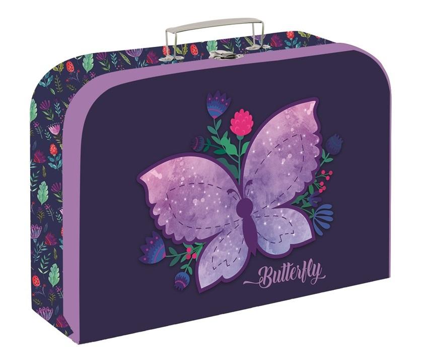 Kufrík Motýľ 34cm