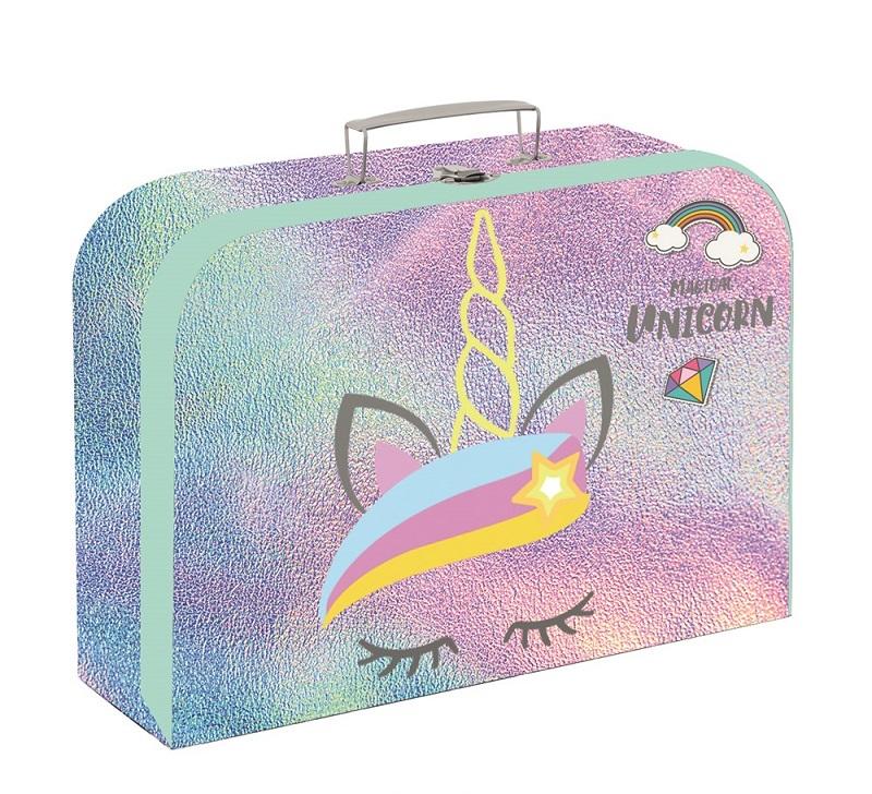 Kufrík Unicorn Iconic 34 cm